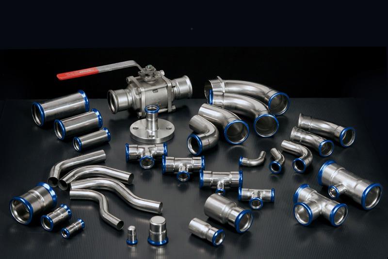 Eurotubi Pressfitting System - Acciaio inox AISI 316L