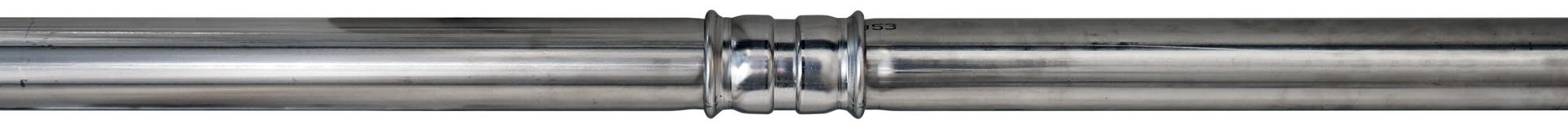 Impianti pressfitting acciaio inox AISI 316L