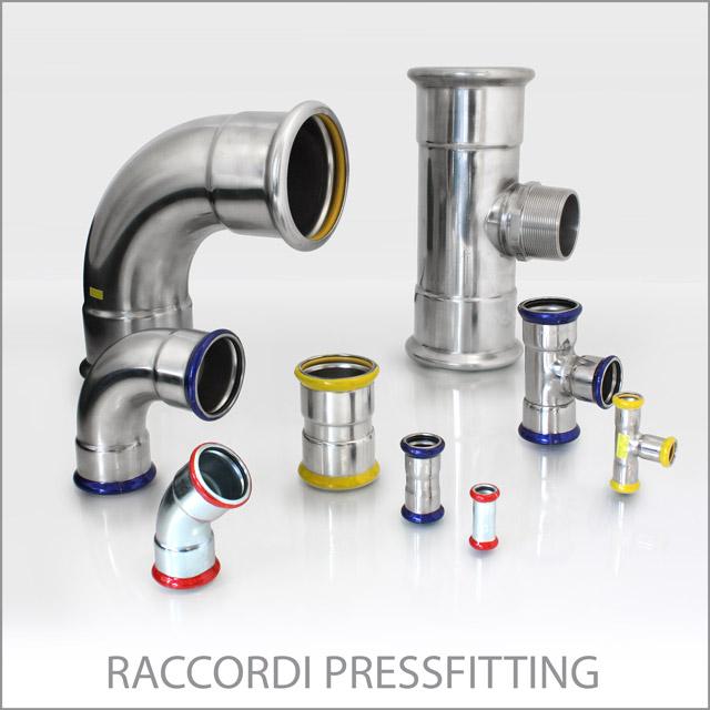 Eurotubi Pressfitting System - Raccordi