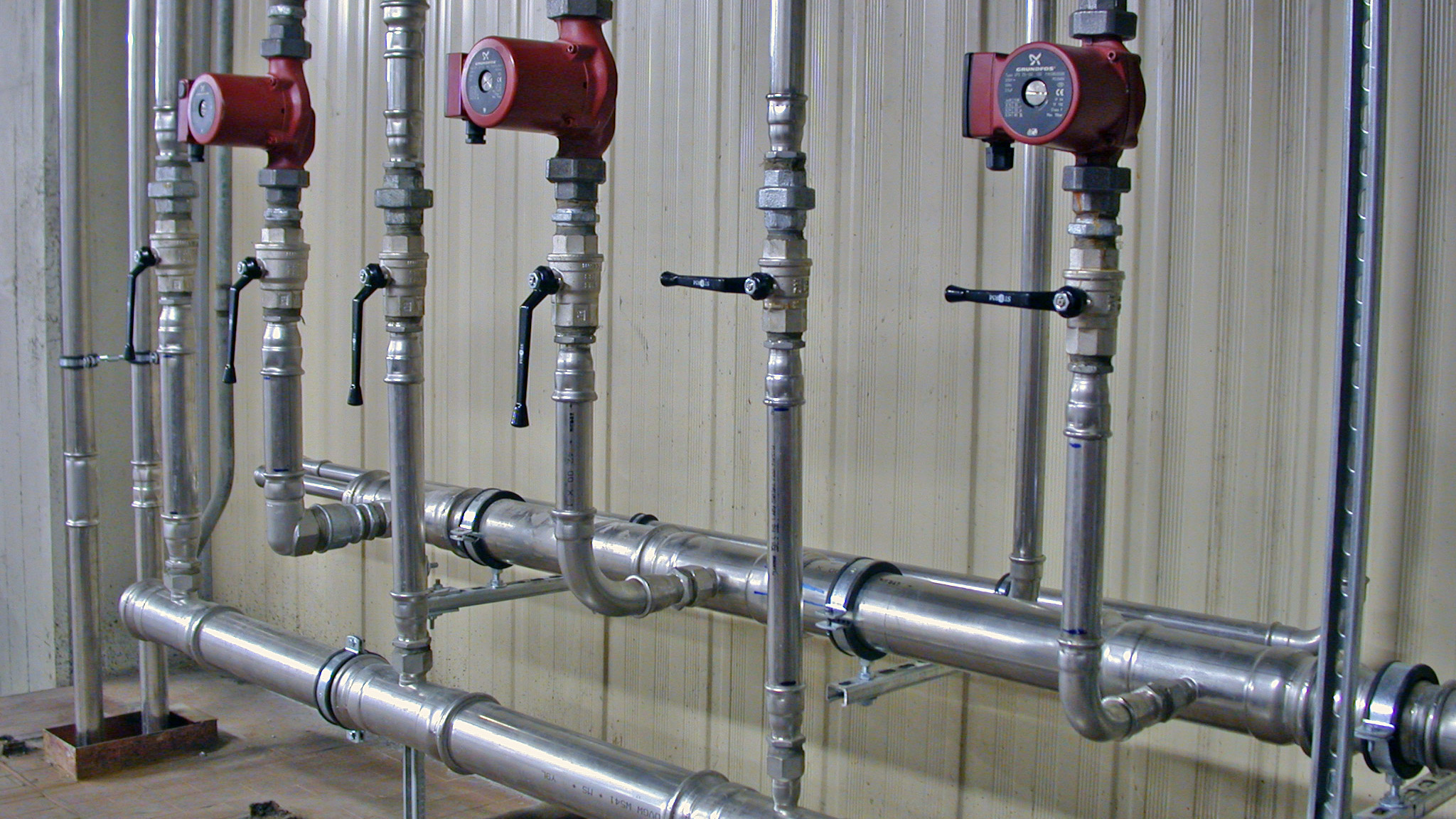 Eurotubi Pressfitting System - applicazioni - aria compressa