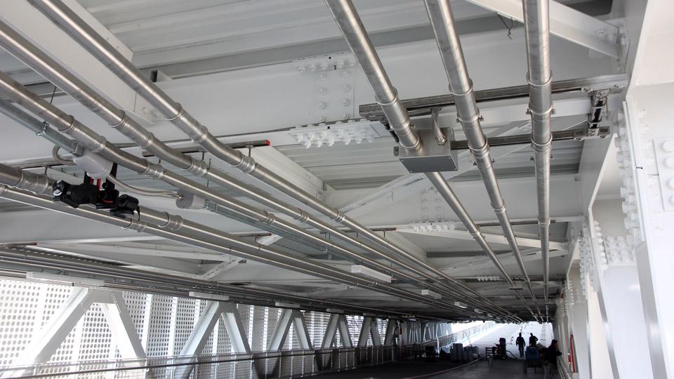 Eurotubi Pressfitting System - applicazioni - protezione cavi elettrici