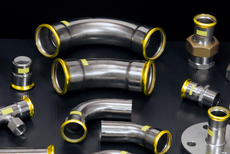Eurotubi Pressfitting System - Acciaio inox AISI 316L GAS