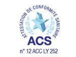 Eurotubi Pressfitting - certificazione ACS - Francia