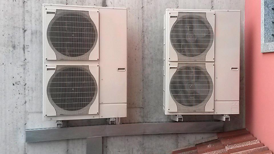 Eurotubi Pressfitting System - applicazioni - condizionamento e climatizzazione