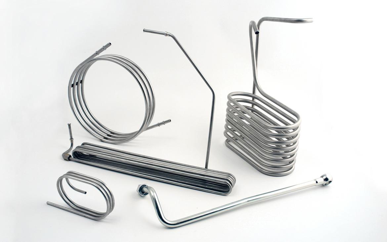 Eurotubi - serpentine acciaio inox
