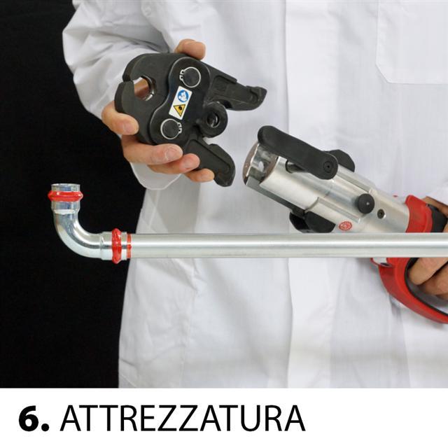6 - attrezzatura pressatrice