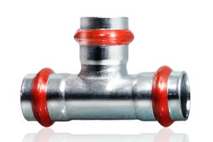 Pressfitting Carbon Steel V profile