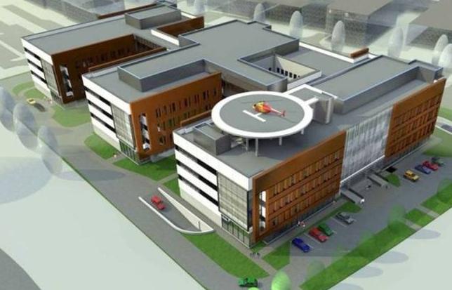 Pressfitting Eurotubi per il nuovo ospedale di Varsavia in Polonia
