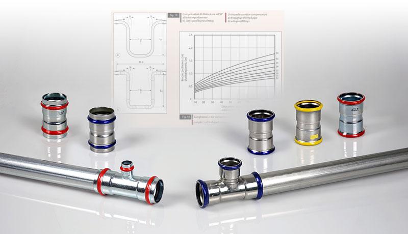 dilatazione termica tubi pressfitting
